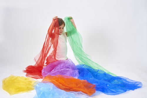 Rainbow Organza Set 7pk
